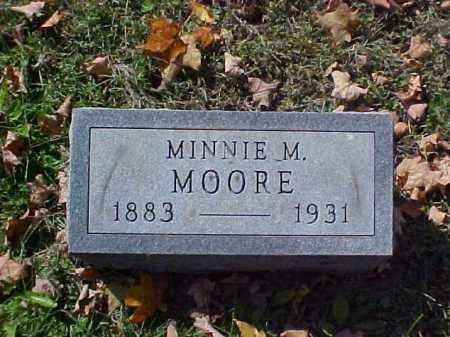 MOORE, MINNIE M. - Meigs County, Ohio | MINNIE M. MOORE - Ohio Gravestone Photos
