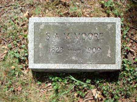 MOORE, S.A.M. - Meigs County, Ohio | S.A.M. MOORE - Ohio Gravestone Photos