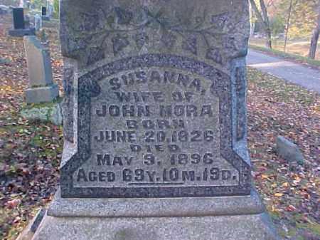 MORA, SUSANNA - Meigs County, Ohio | SUSANNA MORA - Ohio Gravestone Photos