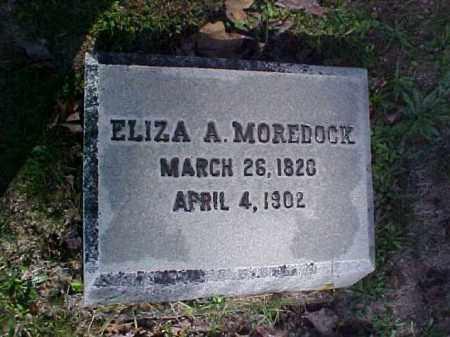 MOREDOCK, ELIZA A. - Meigs County, Ohio | ELIZA A. MOREDOCK - Ohio Gravestone Photos