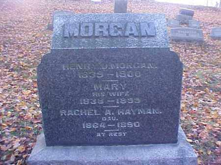 MORGAN HAYMAN, RACHEL A. - Meigs County, Ohio | RACHEL A. MORGAN HAYMAN - Ohio Gravestone Photos