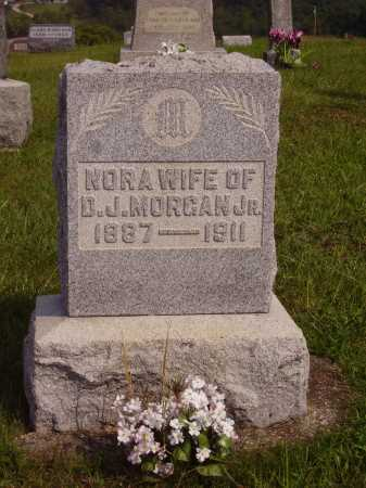 MORGAN, NORA - Meigs County, Ohio | NORA MORGAN - Ohio Gravestone Photos