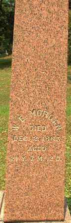 MORGAN, W.?. - Meigs County, Ohio | W.?. MORGAN - Ohio Gravestone Photos