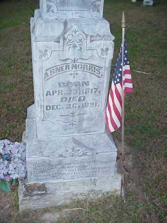 MORRIS, ABNER - Meigs County, Ohio | ABNER MORRIS - Ohio Gravestone Photos