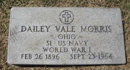 MORRIS, DAILEY VALE - MILITARY - Meigs County, Ohio | DAILEY VALE - MILITARY MORRIS - Ohio Gravestone Photos