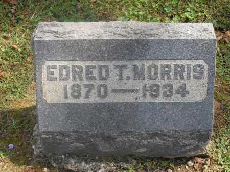 MORRIS, EDRED T. - Meigs County, Ohio | EDRED T. MORRIS - Ohio Gravestone Photos