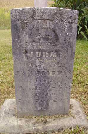 MORRIS, JOHN - Meigs County, Ohio | JOHN MORRIS - Ohio Gravestone Photos