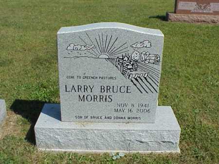 MORRIS, LARRY BRUCE - Meigs County, Ohio   LARRY BRUCE MORRIS - Ohio Gravestone Photos