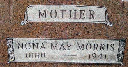SUTTON MORRIS, NONA MAY - Meigs County, Ohio | NONA MAY SUTTON MORRIS - Ohio Gravestone Photos