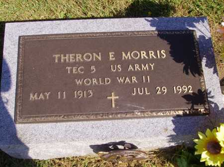 MORRIS, THERON E. - Meigs County, Ohio | THERON E. MORRIS - Ohio Gravestone Photos