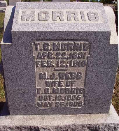 WEBB MORRIS, MARGARET J. - Meigs County, Ohio | MARGARET J. WEBB MORRIS - Ohio Gravestone Photos