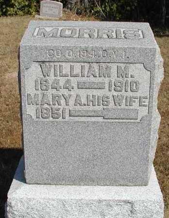 MORRIS, MARY A. - Meigs County, Ohio | MARY A. MORRIS - Ohio Gravestone Photos