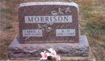 MORRISON, ABRAM DAY - Meigs County, Ohio | ABRAM DAY MORRISON - Ohio Gravestone Photos