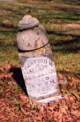 MORRISON, CRAWFORD W. - Meigs County, Ohio   CRAWFORD W. MORRISON - Ohio Gravestone Photos
