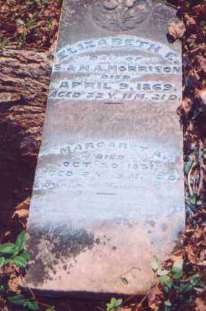 MORRISON, MARGARET A. - Meigs County, Ohio | MARGARET A. MORRISON - Ohio Gravestone Photos