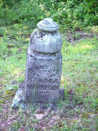 MORRISON, SONS - Meigs County, Ohio   SONS MORRISON - Ohio Gravestone Photos