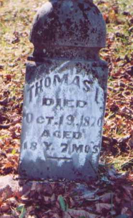 MORRISON, THOMAS L. - Meigs County, Ohio | THOMAS L. MORRISON - Ohio Gravestone Photos