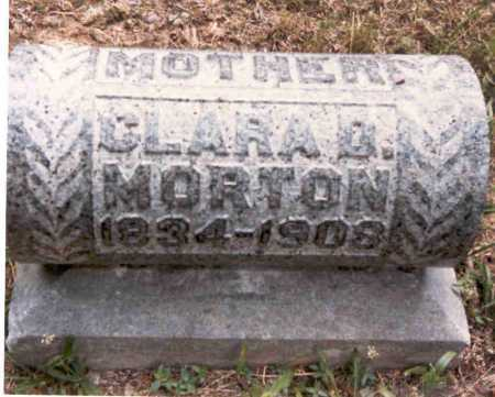 MORTON, CLARA - Meigs County, Ohio | CLARA MORTON - Ohio Gravestone Photos