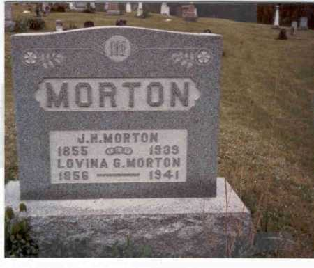 HOLLIDAY MORTON, LOVINA G. - Meigs County, Ohio | LOVINA G. HOLLIDAY MORTON - Ohio Gravestone Photos