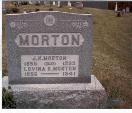 HOLLIDAY MORTON, LOVINA G. - Meigs County, Ohio | LOVINA G. HOLLIDAY MORTON - Ohio Gravestone Photos