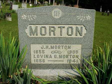 MORTON, J. H. - Meigs County, Ohio | J. H. MORTON - Ohio Gravestone Photos