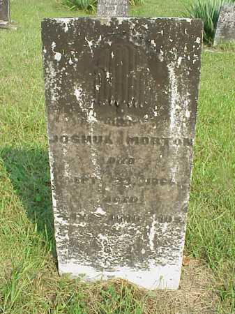 MORTON, JOSHUA - Meigs County, Ohio | JOSHUA MORTON - Ohio Gravestone Photos