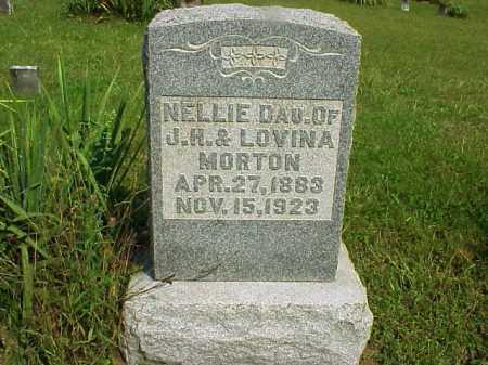 MORTON, NELLIE - Meigs County, Ohio | NELLIE MORTON - Ohio Gravestone Photos