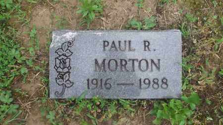 MORTON, PAUL R. - Meigs County, Ohio | PAUL R. MORTON - Ohio Gravestone Photos