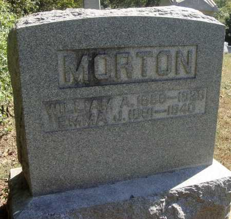 MORTON, WILLIAM A., JR - Meigs County, Ohio | WILLIAM A., JR MORTON - Ohio Gravestone Photos