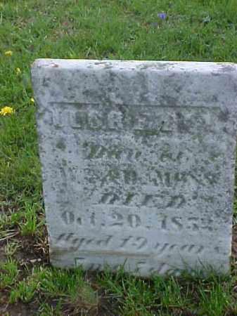 MOSS, LUCRETIA - Meigs County, Ohio | LUCRETIA MOSS - Ohio Gravestone Photos