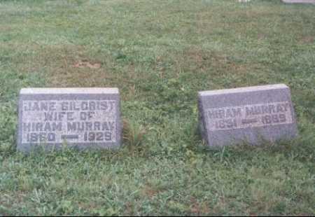 MURRAY, JANE - Meigs County, Ohio | JANE MURRAY - Ohio Gravestone Photos