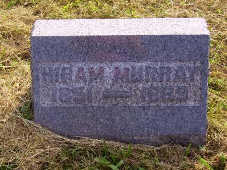 MURRAY, HIRAM - Meigs County, Ohio | HIRAM MURRAY - Ohio Gravestone Photos