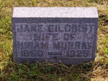 GILCRIST MURRAY, JANE - Meigs County, Ohio | JANE GILCRIST MURRAY - Ohio Gravestone Photos