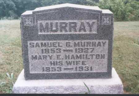 HAMILTON MURRAY, MARY E. - Meigs County, Ohio | MARY E. HAMILTON MURRAY - Ohio Gravestone Photos