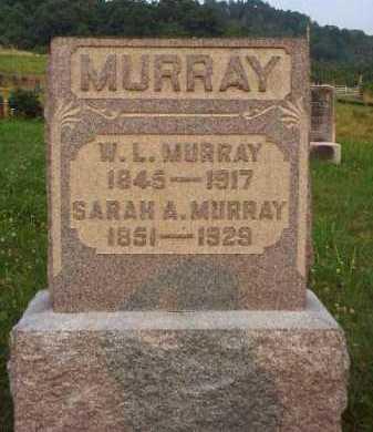 MURRAY, SARAH A. - Meigs County, Ohio | SARAH A. MURRAY - Ohio Gravestone Photos