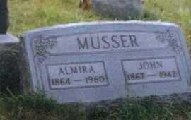 MUSSER, JOHN - Meigs County, Ohio | JOHN MUSSER - Ohio Gravestone Photos