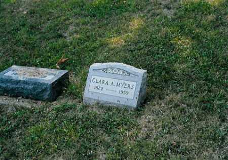 MYERS, CLARA A. - Meigs County, Ohio | CLARA A. MYERS - Ohio Gravestone Photos