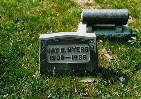 MYERS, JAY B. - Meigs County, Ohio | JAY B. MYERS - Ohio Gravestone Photos