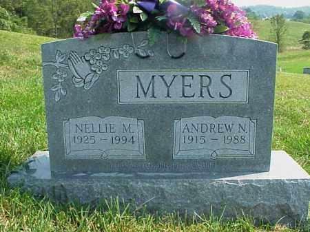 MYERS, NELLIE M. - Meigs County, Ohio | NELLIE M. MYERS - Ohio Gravestone Photos