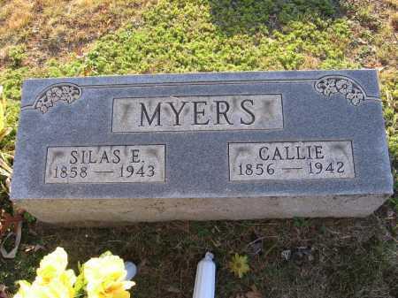 "MYERS, CAROLINE L. ""CALLIE"" - Meigs County, Ohio | CAROLINE L. ""CALLIE"" MYERS - Ohio Gravestone Photos"