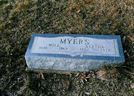 MYERS, BERTHA - Meigs County, Ohio | BERTHA MYERS - Ohio Gravestone Photos