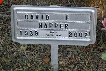NAPPER, DAVID E. - Meigs County, Ohio   DAVID E. NAPPER - Ohio Gravestone Photos