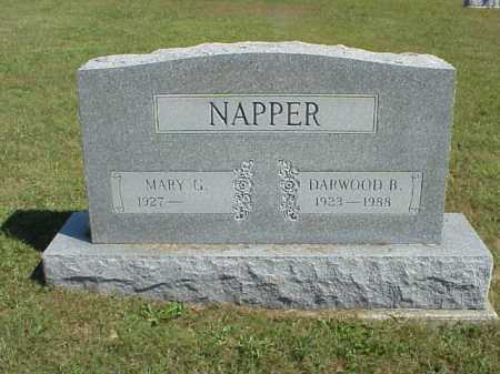 NAPPER, MARY G. - Meigs County, Ohio | MARY G. NAPPER - Ohio Gravestone Photos