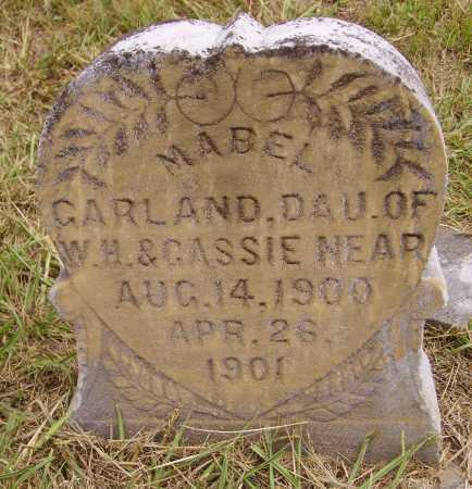 NEAR, MABEL GARLAND - Meigs County, Ohio | MABEL GARLAND NEAR - Ohio Gravestone Photos