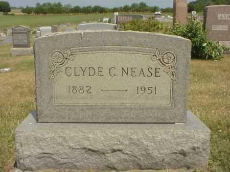 NEASE, CLYDE C. - Meigs County, Ohio   CLYDE C. NEASE - Ohio Gravestone Photos