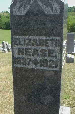 ROUSH NEASE, ELIZABETH - Meigs County, Ohio | ELIZABETH ROUSH NEASE - Ohio Gravestone Photos