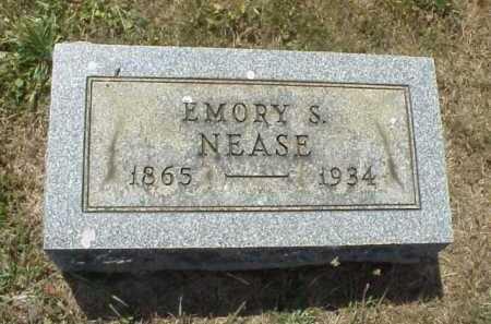 NEASE, EMORY S. - Meigs County, Ohio | EMORY S. NEASE - Ohio Gravestone Photos