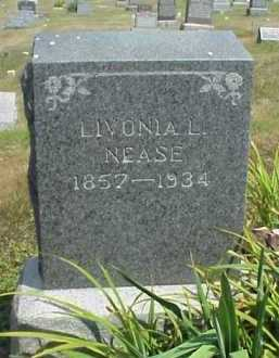 NEASE, LIVONIA L. - Meigs County, Ohio | LIVONIA L. NEASE - Ohio Gravestone Photos