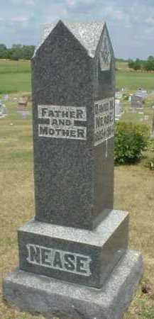 NEASE MONUMENT, FATHER & MOTHER - Meigs County, Ohio | FATHER & MOTHER NEASE MONUMENT - Ohio Gravestone Photos