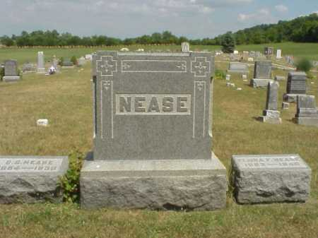 NEASE MONUMENT, G. G. & FLORA - Meigs County, Ohio | G. G. & FLORA NEASE MONUMENT - Ohio Gravestone Photos